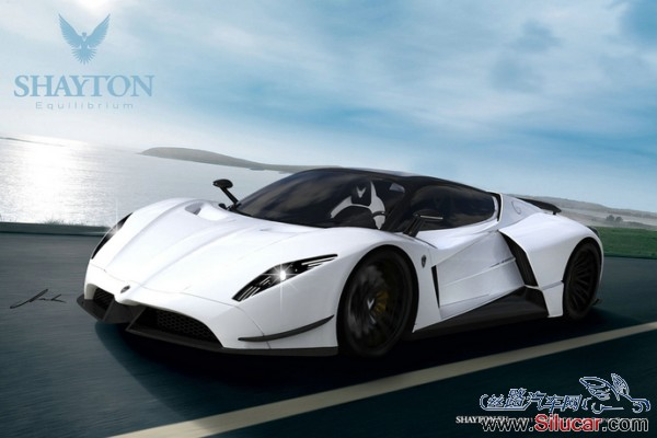 shayton推出超级跑车equilibrium