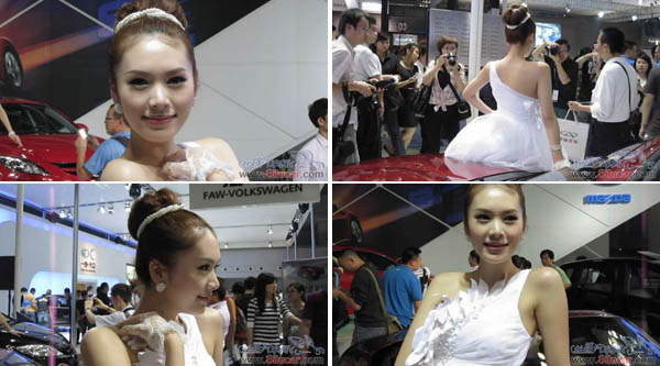 视频:重庆车展气质美女张娟娟
