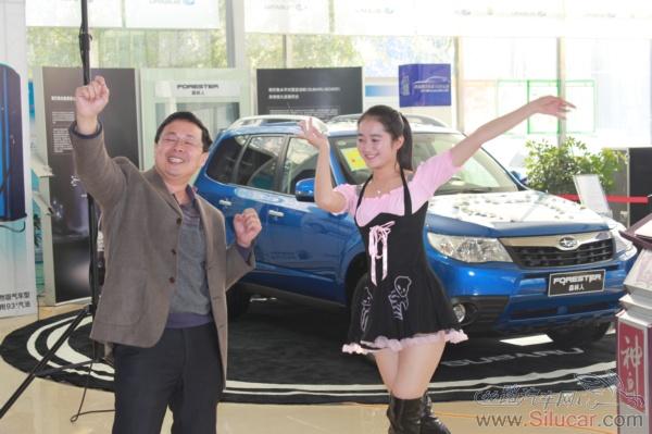 黄蓉 郭靖/车主和舞蹈演员现场演绎射雕英雄传里面的郭靖和黄蓉