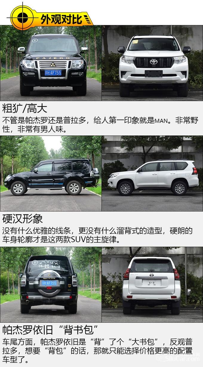 日系硬派SUV谁更强 三菱帕杰罗对比丰田普拉多-图1