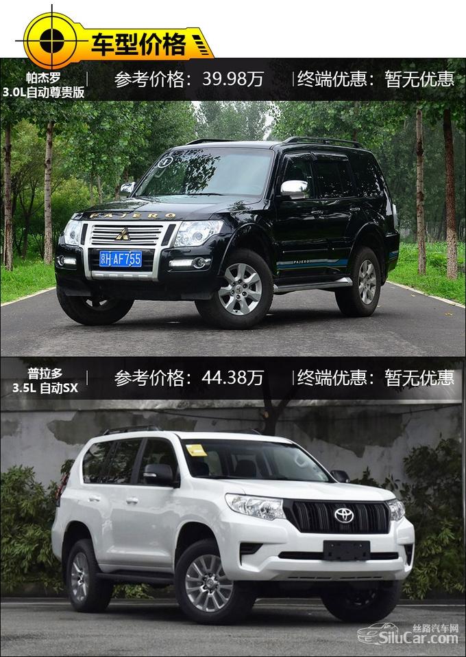 日系硬派SUV谁更强 三菱帕杰罗对比丰田普拉多-图2