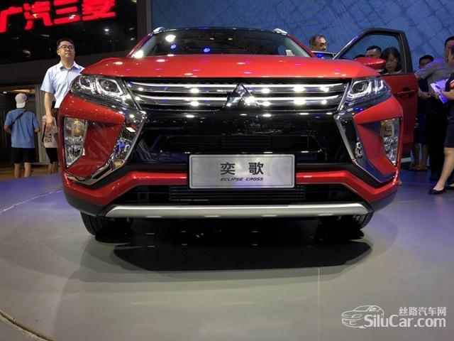 打造新时尚SUV广汽三菱奕歌车展实拍